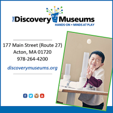 Discovery Museums Acton New England Fall Events
